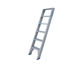 Solide enkele trap ET 6 treden