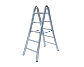 Solide Dubbele scharnier ladder 2x5