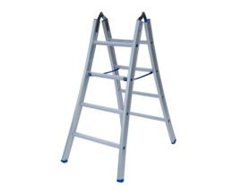 Dubbele scharnier ladders