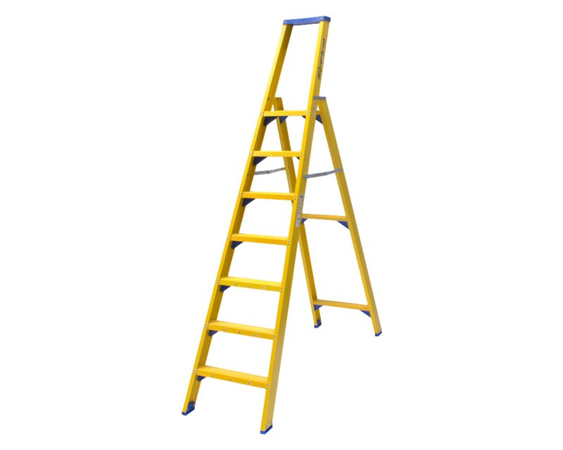 Staltor Enkele Kunststof trap 7 treden