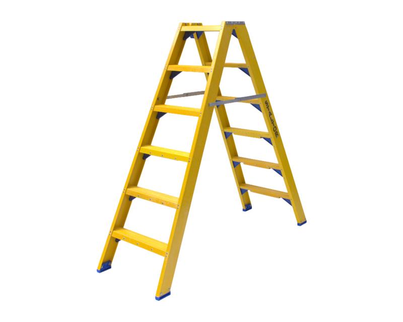 Staltor Dubbele Kunststof trap 7 treden