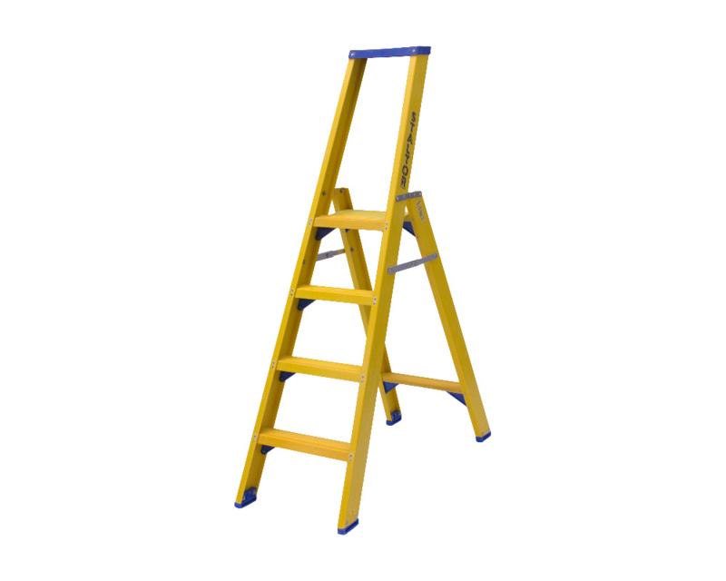 Staltor Enkele Kunststof trap 4 treden
