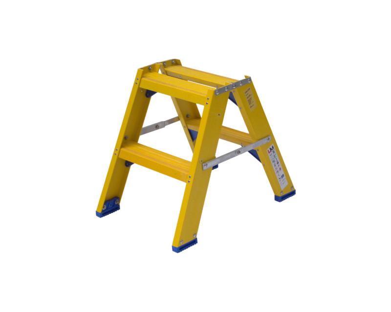 Staltor Dubbele Kunststof trap 2 treden