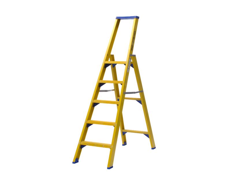 Staltor Enkele Kunststof trap 5 treden