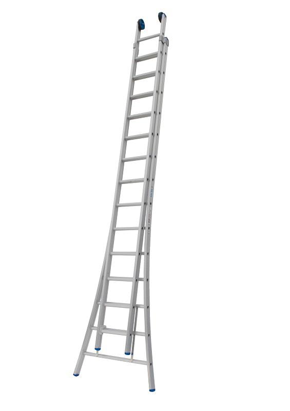 Solide bouwladder 2x14