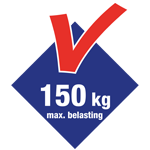 150kg max. belasting