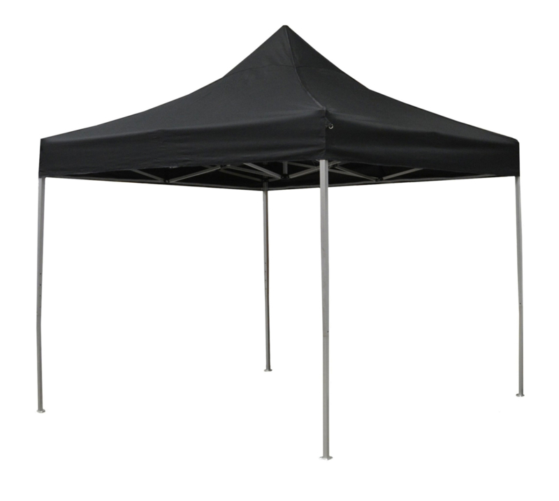 Easy up Partytent 3x3m Zwart