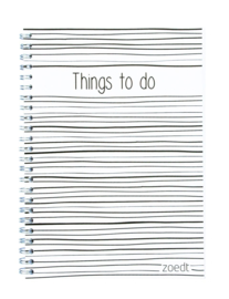 Things to do | Strepen