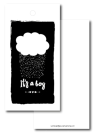 It's a boy | Label