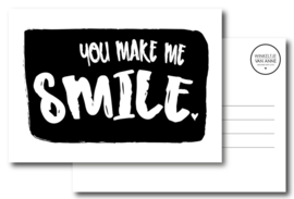 You make me smile | Kaart