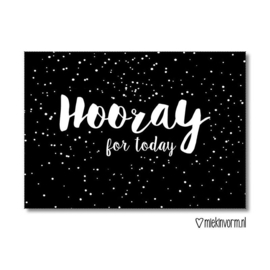 Hooray for today | Kaart