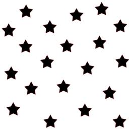 Kleine sterren | Muursticker