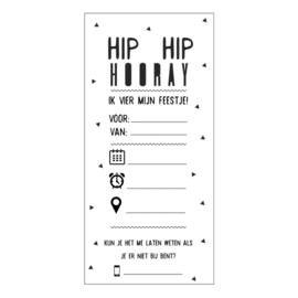 Hip hip hooray | Uitnodiging