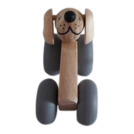 Houten auto | Hond