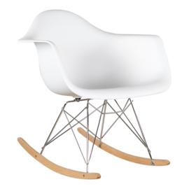 Eames RAR Schommelstoel | Wit