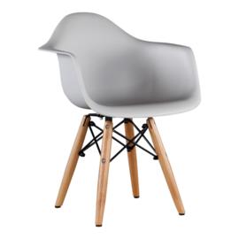 Eames DAW Kinderstoel | Lichtgrijs