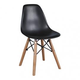 Eames DSW Kinderstoel | Zwart