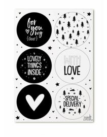 Kerst | Stickers | Zoedt