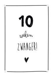 Mijlpaalkaarten | Zwanger