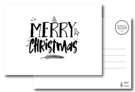 Merry Christmas | Kerstkaart