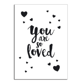 You are so loved | Kaart