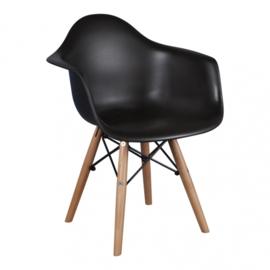 Eames DAW Kinderstoel | Zwart