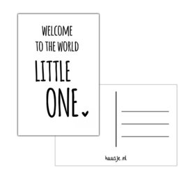 Welcome Little one | Kaart