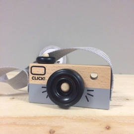 Houten Camera | Grijs