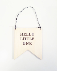 Hello Little One | Banner