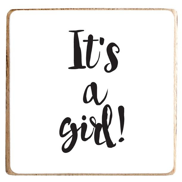 It's a Girl | Magneet