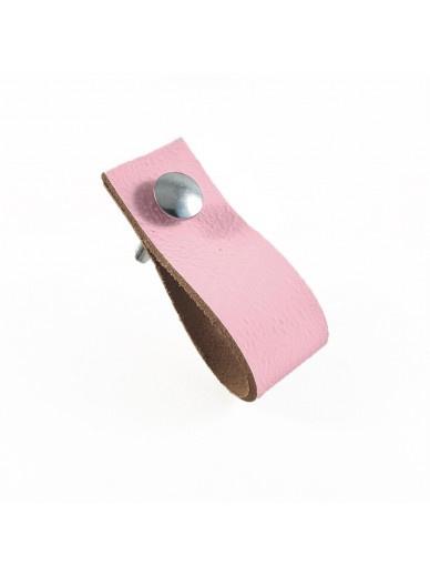 Leren handgrepen | Pink