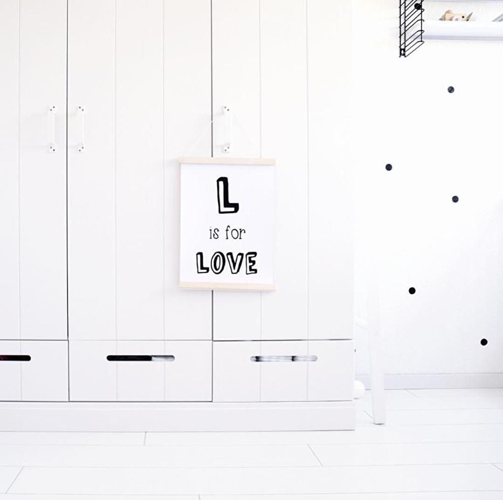 L is for love poster ohmygoody liefshuis kinderkamer decoratie.jpg