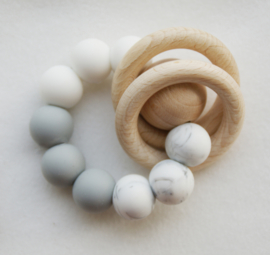 'Tugga Rattle marble/lightgrey/white'