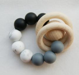 'Tugga Rattle black/marble/darkgrey'