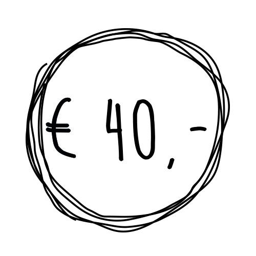 Cadeaubon t.w.v. €40,-