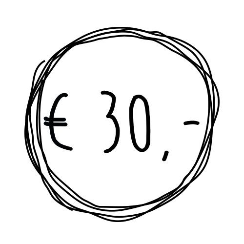 Cadeaubon t.w.v. €30,-