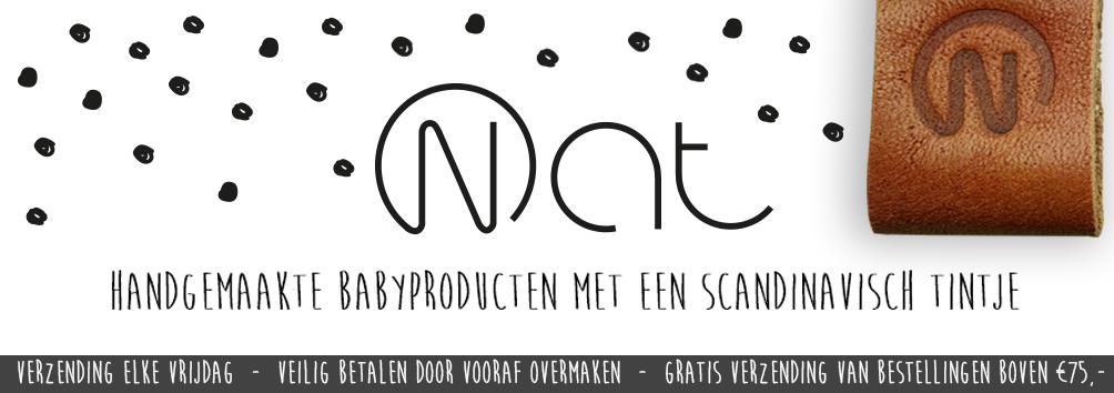 Nat -handgemaakte babyproducten-