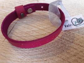 Leren armband gepersonaliseerd