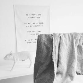 Rechthoekig wanddoek (vanaf prijs)