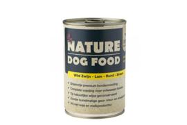 Nature Dog Food Wild zwijn, lam, rund & braam 400 gram