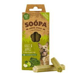 Soopa dental sticks kale & apple