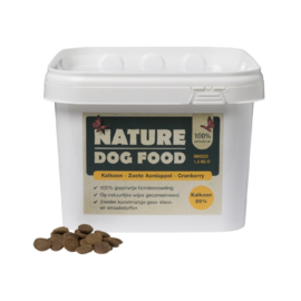 Nature Dog Food kalkoen en cranberry 1,4kg