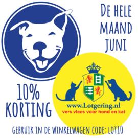 10% korting Lotgering