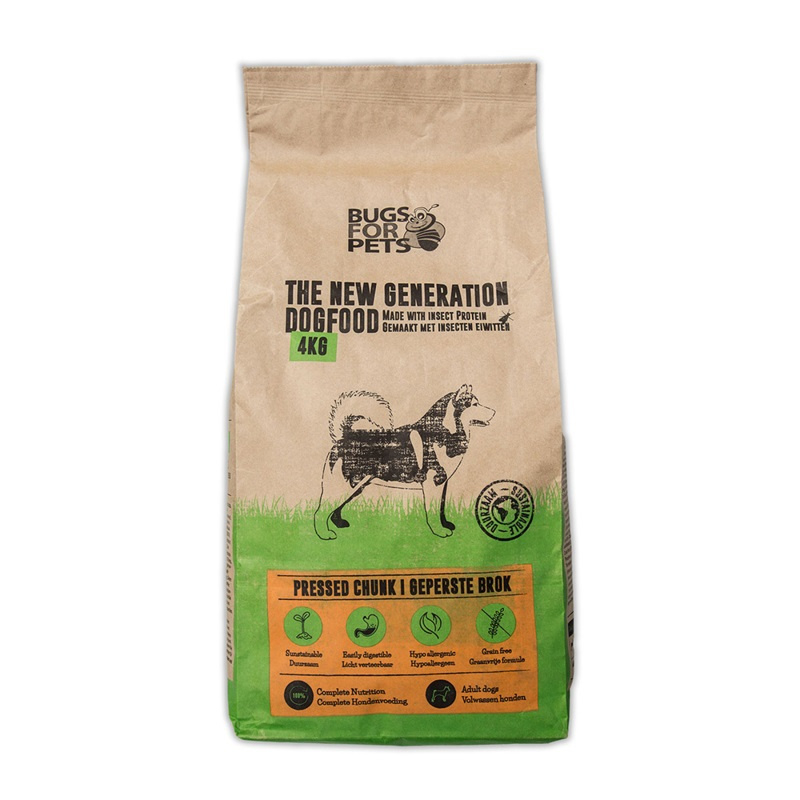 Bugs for Pets Pressed 4kg