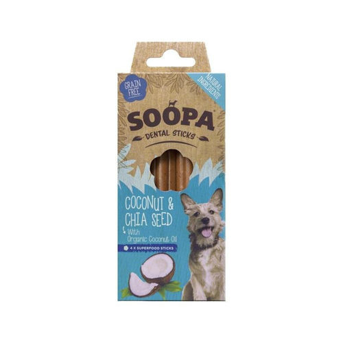 Soopa dental sticks coconut & chia seed