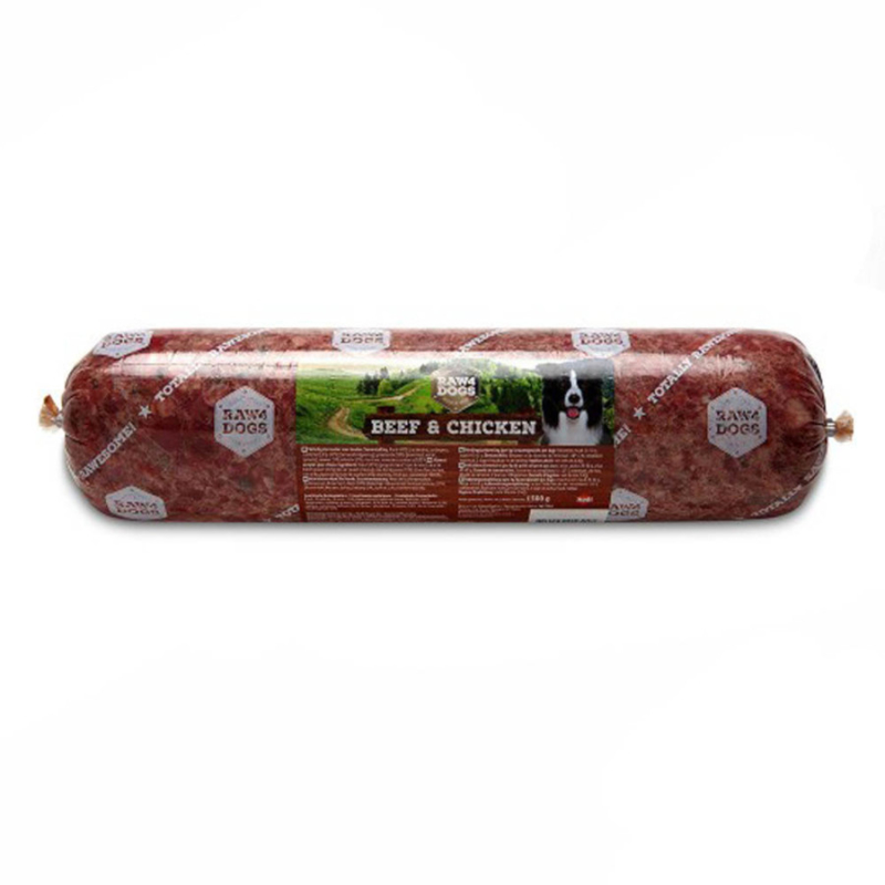 Raw4dogs beef & chicken 1500 gram