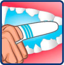 Bogadent anti-plaque finger