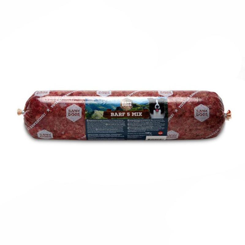 Raw4dogs barf 5 mix 1500 gram