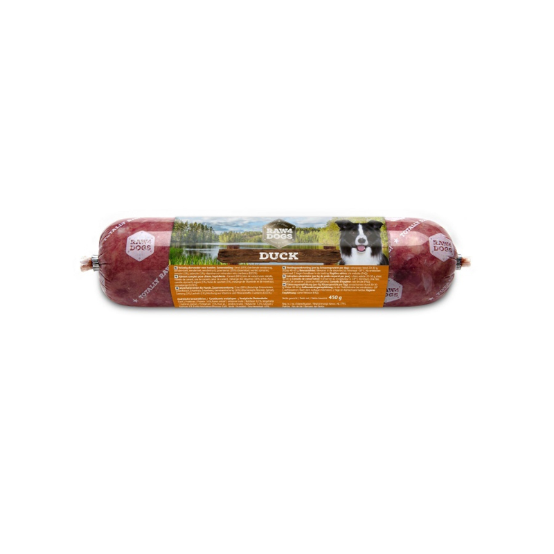 Raw4dogs duck 450 gram