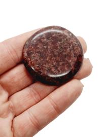 Cinnabar Knuffelsteen (geldsteen)
